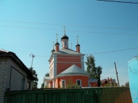 Kolomna, temple Бориса и Глеба, Bolshaya Zaprudnaya st, house 25