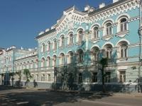 улица Советская, дом 31/33. памятник архитектуры Бывшее здание Серпуховской земской управы