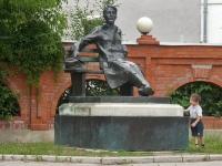 谢尔普霍夫市, 纪念碑 А.П.ЧеховуChekhov st, 纪念碑 А.П.Чехову