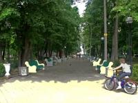 улица Чехова. парк ПКиО им. О.Степанова