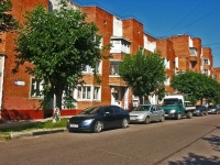 Serpukhov, Lunacharsky st, house 36. Apartment house