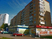 Serpukhov, Voroshilov st, house 144. Apartment house with a store on the ground-floor