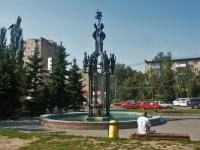улица Ворошилова. фонтан