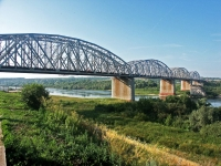谢尔普霍夫市, 桥 через реку Ока2-ya moskovskaya st, 桥 через реку Ока
