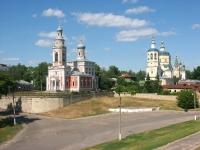 Серпухов, церковь Успения Пресвятой Богородицы, улица Володарского, дом 2