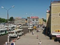 Serpukhov, railway station Железнодорожный, Privokzalnaya sq, house 1