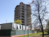 neighbour house: st. 8th Marta, house 4 к.1. building under construction