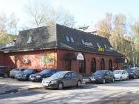 隔壁房屋: st. Bibliotechnaya, 房屋 20. 咖啡馆/酒吧 Уют