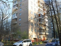 Khimki, Nakhimov st, house 8. Apartment house