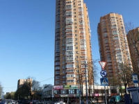 Khimki, Leninsky avenue, house 1 к.1. Apartment house