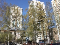 Khimki, Sovkhoznaya st, house 5. Apartment house