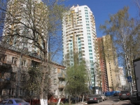 neighbour house: st. Sovkhoznaya, house 7. Apartment house