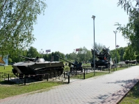 Khimki, monument военной технике9th Maya st, monument военной технике