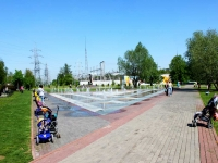 Khimki, 9th Maya st, fountain