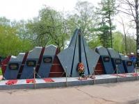 """neighbour house: rd. Nagornoe. memorial """"могила павших воинов"""""""
