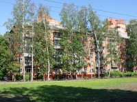 Khimki, Zoi Kosmodemianskoy st, house 1. Apartment house