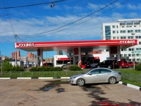 Khimki, fuel filling station АЗС Лукойл, №406, Yubileyny avenue, вл.77