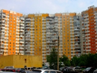 Khimki, Mariya Rubtsova st, house 1 к.2. Apartment house