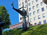 Khimki, sculpture