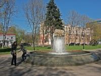 Balashikha, Lenin avenue, fountain