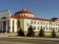 Волоколамск, площадь Октябрьская, дом 6. многофункциональное здание