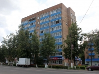 Voskresensk, Mendeleev st, house 1. Apartment house