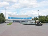 """沃斯克列先斯克, 体育宫 Ледовый дворец """"Подмосковье"""", Mendeleev st, 房屋 2"""