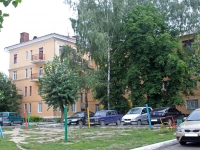 Voskresensk, Pobedy st, house 7. Apartment house