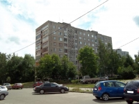 Voskresensk, Engels st, house 9. Apartment house