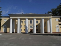 """Voskresensk, community center МУ """"Цементник"""", Chapaev st, house 1"""