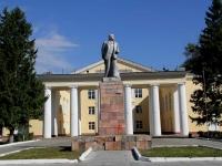 Воскресенск, памятник В.И. Ленинуулица Чапаева, памятник В.И. Ленину