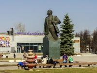 Домодедово, площадь 30 лет Победы. памятник Ленину