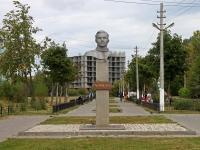 Егорьевск, улица Гагарина. памятник Ю.А.Гагарину