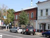 Yegoryevsk, Sovetskaya st, house 55. Apartment house with a store on the ground-floor