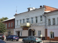 Yegoryevsk, Sovetskaya st, house 57. Apartment house with a store on the ground-floor