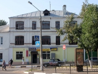 Yegoryevsk, Sovetskaya st, house 60. Apartment house with a store on the ground-floor