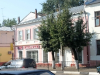 Yegoryevsk, Sovetskaya st, house 64. Apartment house with a store on the ground-floor