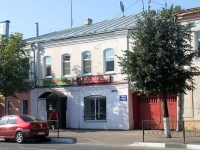 Yegoryevsk, Sovetskaya st, house 72. Apartment house with a store on the ground-floor