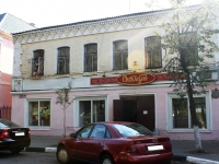 Yegoryevsk, Sovetskaya st, house 99. Apartment house with a store on the ground-floor