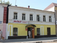 Yegoryevsk, Sovetskaya st, house 100. Apartment house with a store on the ground-floor