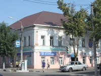 Yegoryevsk, Sovetskaya st, house 105. Apartment house with a store on the ground-floor