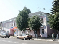 Yegoryevsk, Sovetskaya st, house 128. Apartment house with a store on the ground-floor