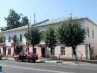 Yegoryevsk, Sovetskaya st, house 134. Apartment house with a store on the ground-floor