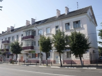 Yegoryevsk, Sovetskaya st, house 162. Apartment house with a store on the ground-floor