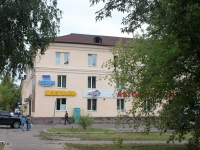 Yegoryevsk, Lenin avenue, house 2. Apartment house with a store on the ground-floor