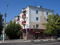 Yegoryevsk, Ryazanskaya st, house 15. Apartment house with a store on the ground-floor