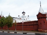 Егорьевск, улица Владимирская, дом 2А. монастырь Свято-Троицкий Мариинский женский монастырь и храм Святой Троицы