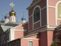 Kashira, church Флора и Лавра, Shkolny alley, house 4