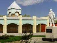 Клин, улица Ленина. памятник Ленину