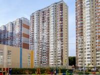 Красногорск, улица Сходненская (Путилково), дом 5. многоквартирный дом